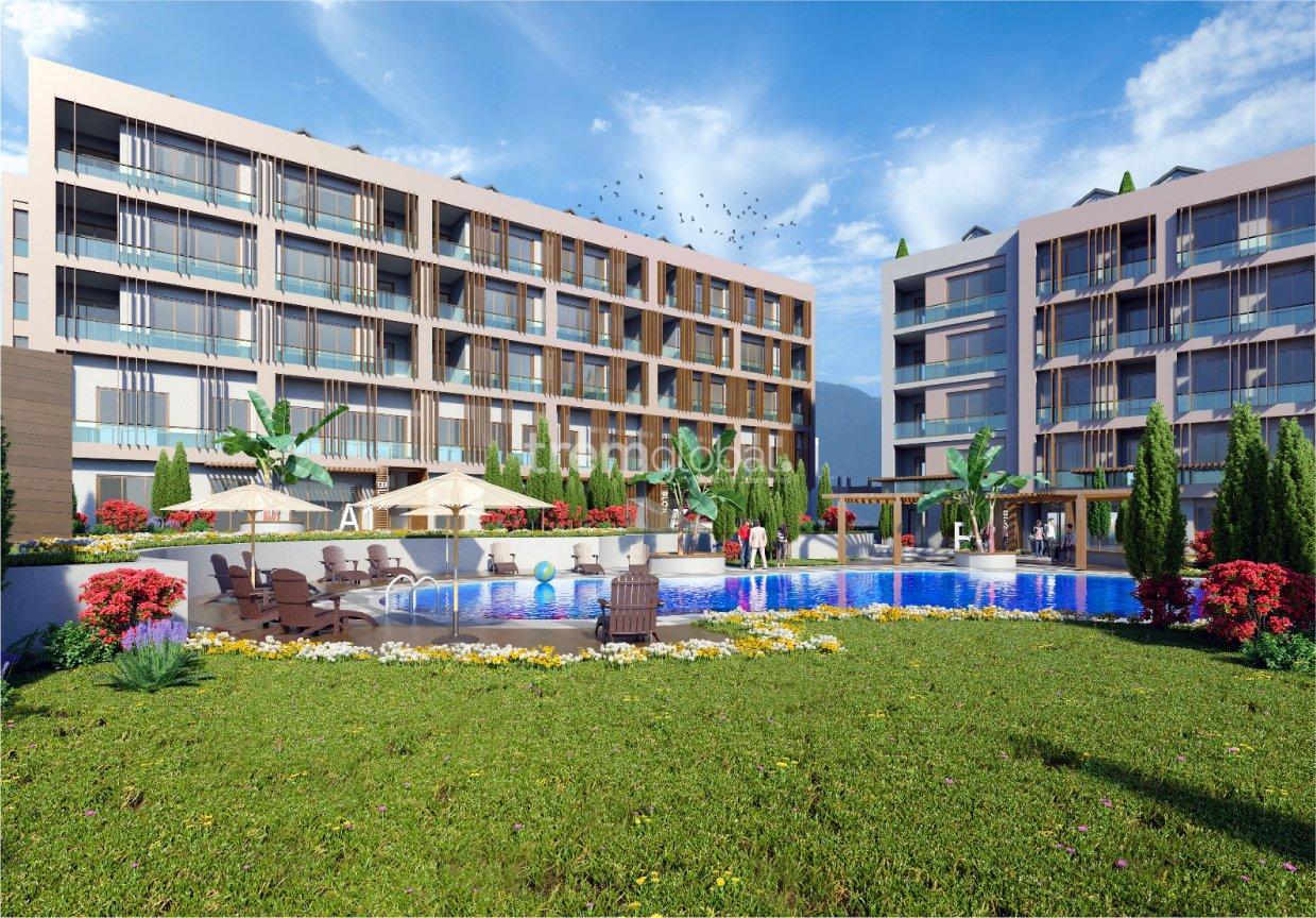 real estate for sale in Istanbul / Büyükçekmece Flats