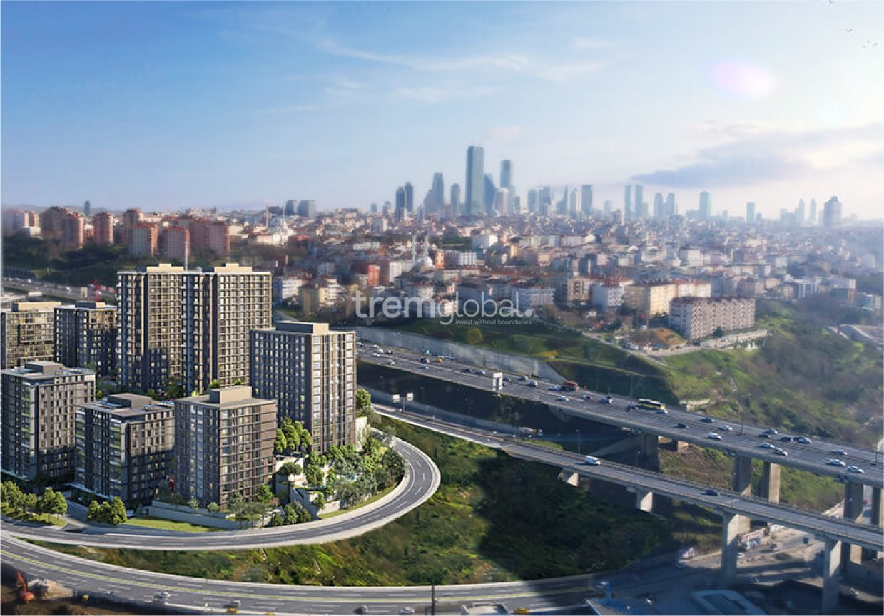 real estate for sale in İstanbul / Kağithane Apartments
