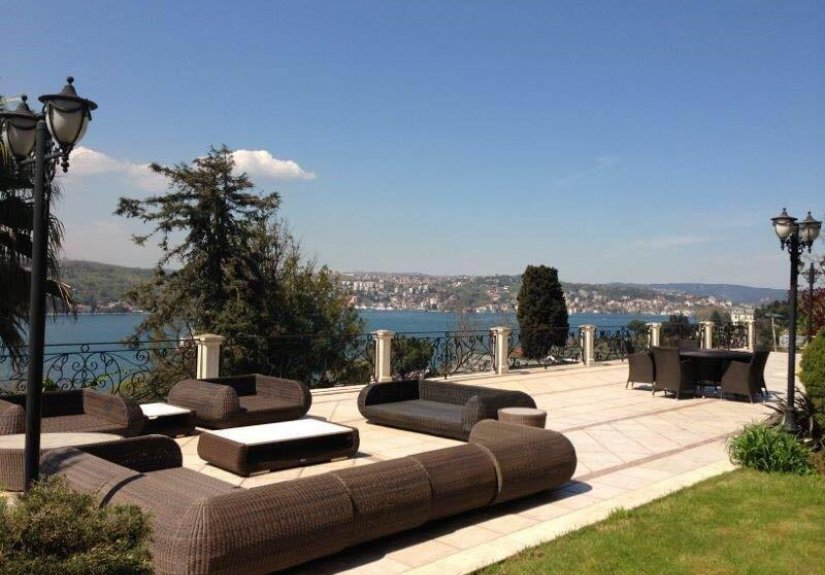 7+4 mansion with magnificent Bosphorus View - 5