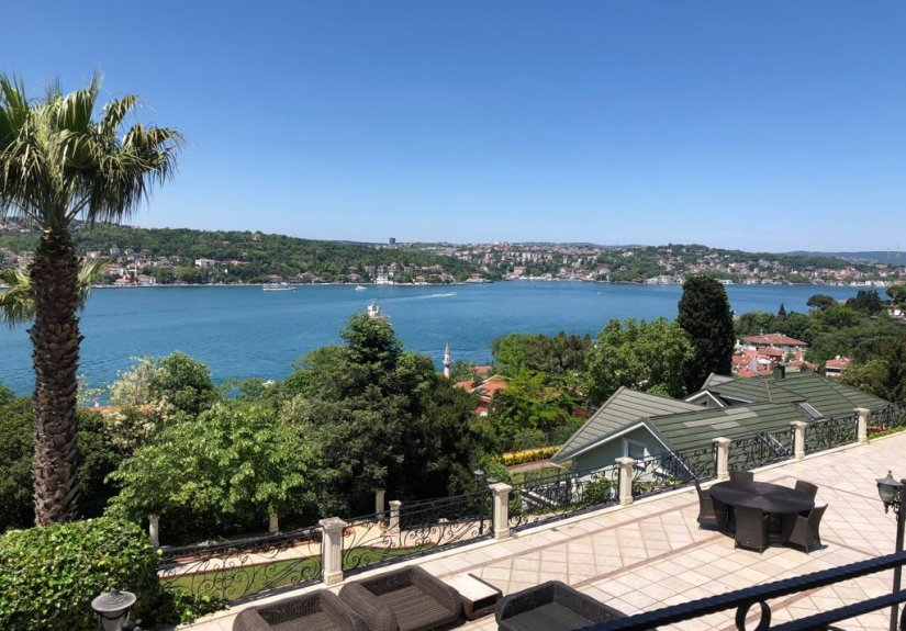 7+4 mansion with magnificent Bosphorus View - 14