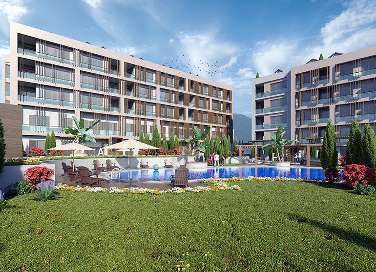 real estate for sale in istanbul / Mimaroba Flats