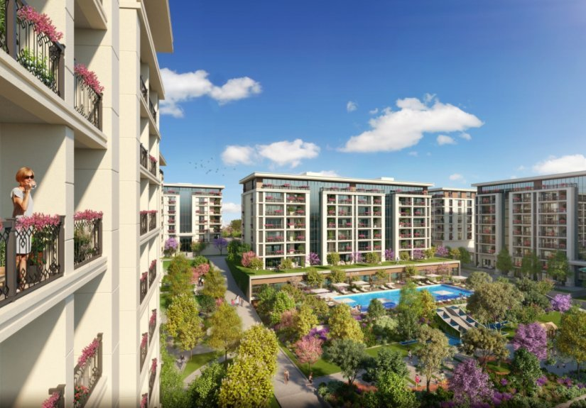 real estate for sale in Istanbul / Esenyurt Apartment