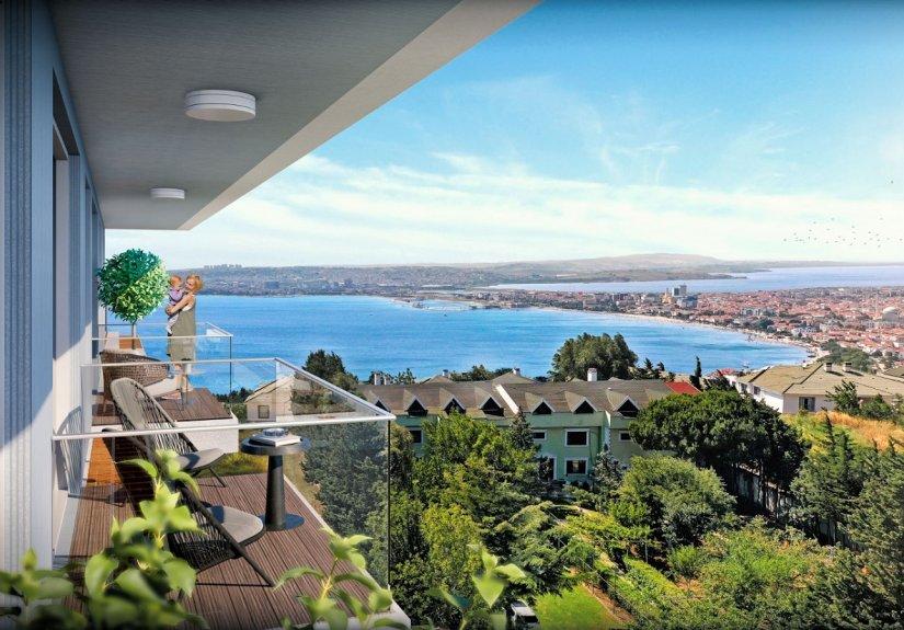 real estate for sale in Istanbul / Büyükçekmece Apartment