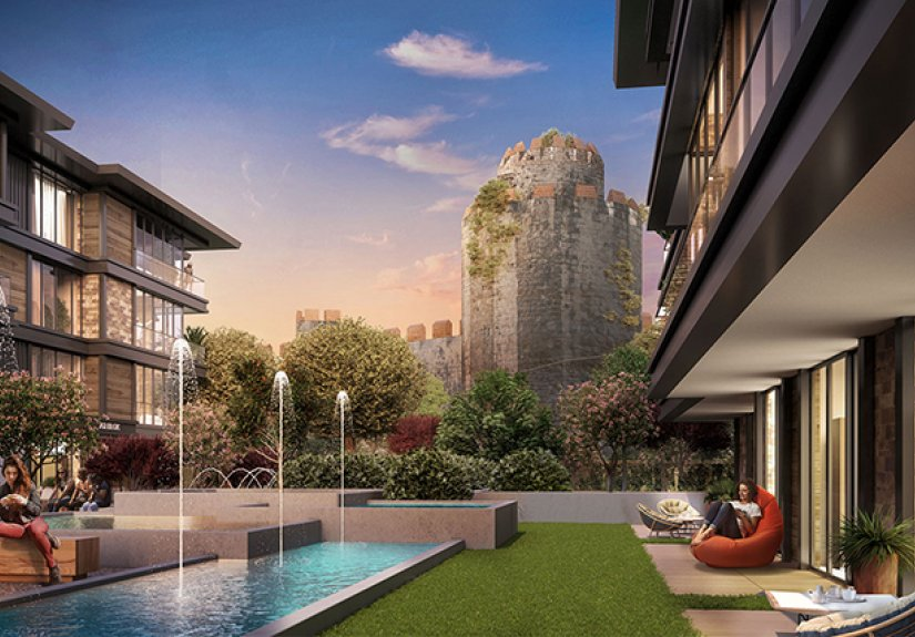 real estate for sale in İstanbul / Fatih Apartments