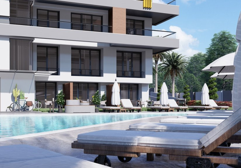 real estate for sale in Antalya / Alanya Residences
