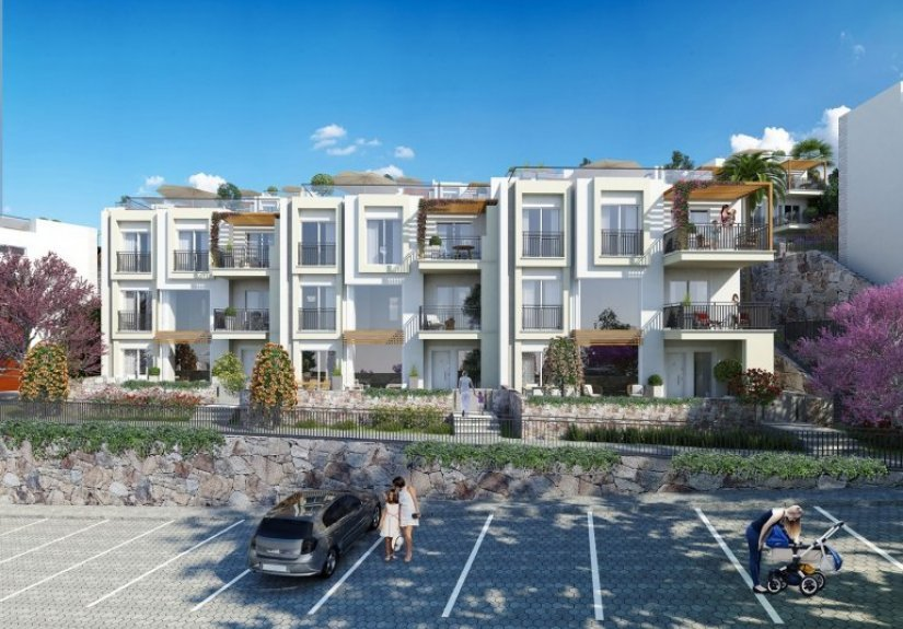 real estate for sale in Muğla / Bodrum Apartment/Villas