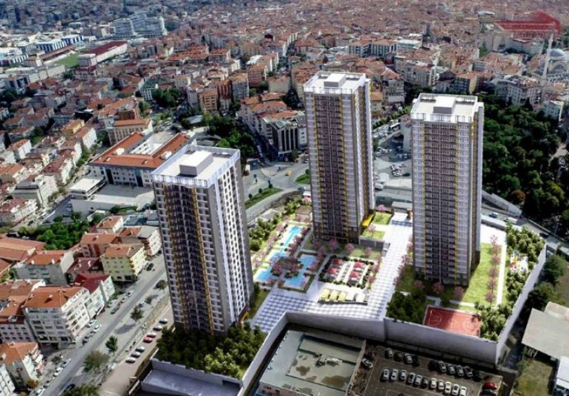 real estate for sale in İstanbul / Bağcilar Residences