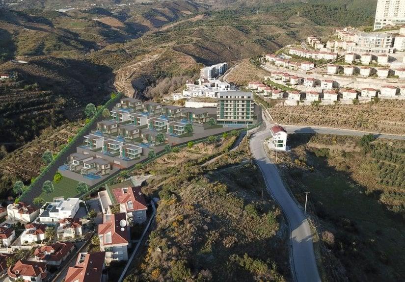 real estate for sale in Antalya / Alanya Villa