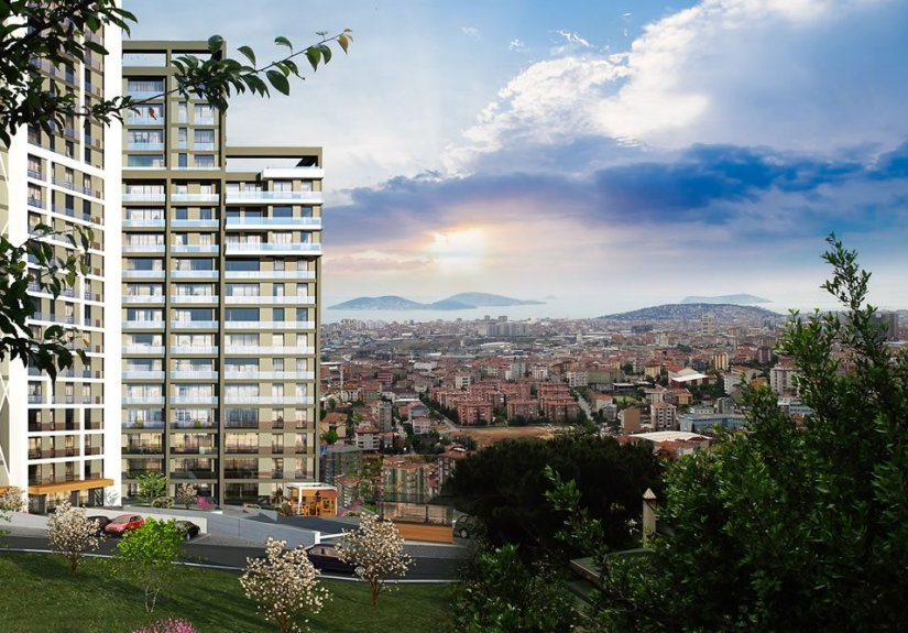 real estate for sale in İstanbul / Kartal Residence