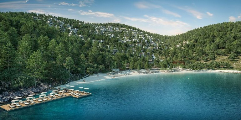 real estate for sale in Muğla / Bodrum Villas