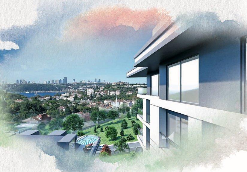 real estate for sale in İstanbul / Üsküdar Apartment