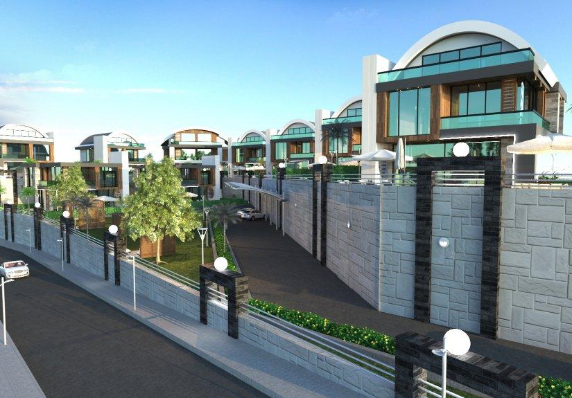 real estate for sale in Antalya / Alanya Villas