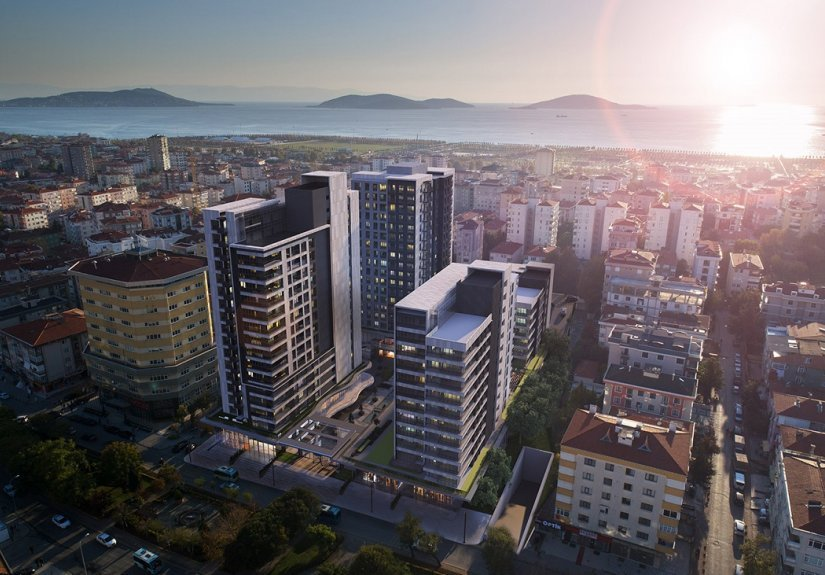 real estate for sale in Istanbul / Maltepe Apartment