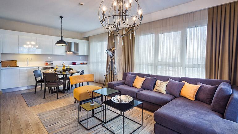 real estate for sale in İstanbul / Güneşli Flats