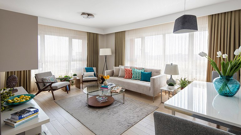 real estate for sale in İstanbul / Günesli Flats
