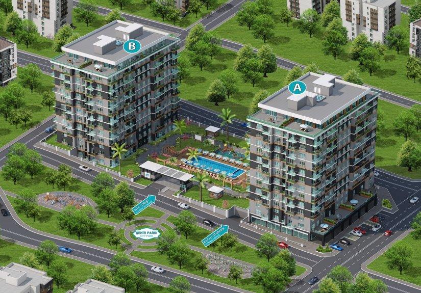 real estate for sale in Istanbul / Büyükçekmece Residence