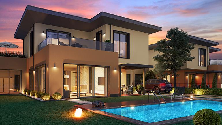 real estate for sale in istanbul / Büyükçekmece Villas