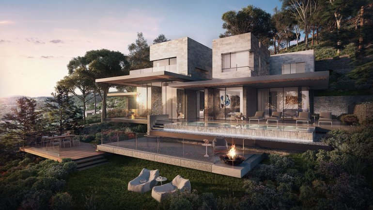 real estate for sale in Bodrum / Yalıkavak Villas
