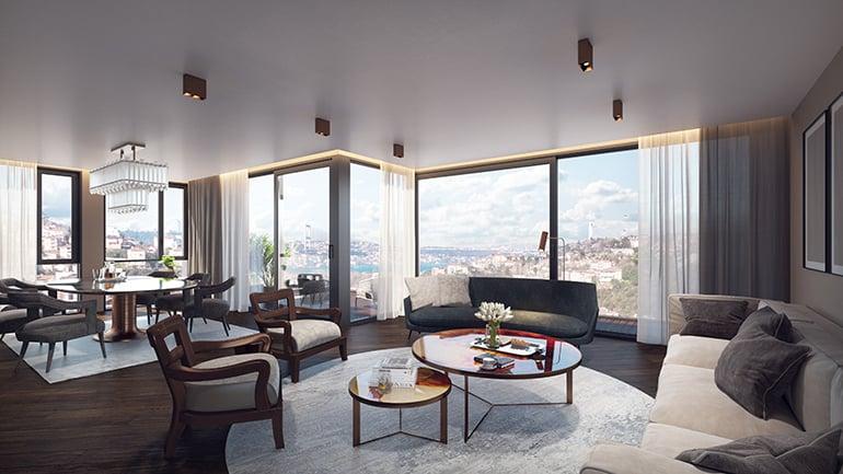 real estate for sale in İstanbul / Üsküdar Flats
