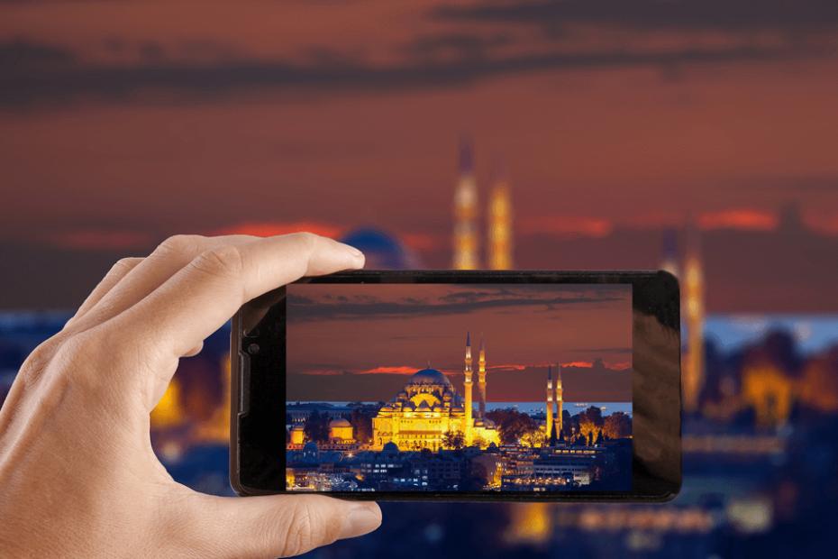أماكن مناسبة للمشاركة على Instagram في إسطنبول