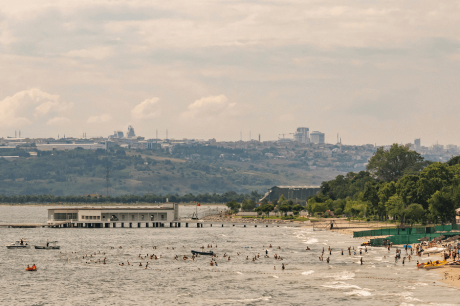 أقرب الشواطئ إلى إسطنبول