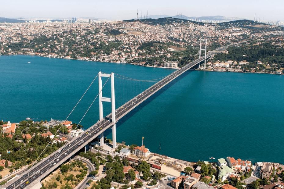 الأماكن التي يمكن رؤيتها في الجانب الأسيوي في إسطنبول