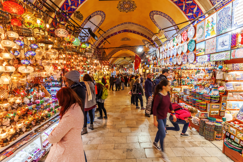 Istanbul\'s Heritage, Hope for the Future; Grand Bazaar