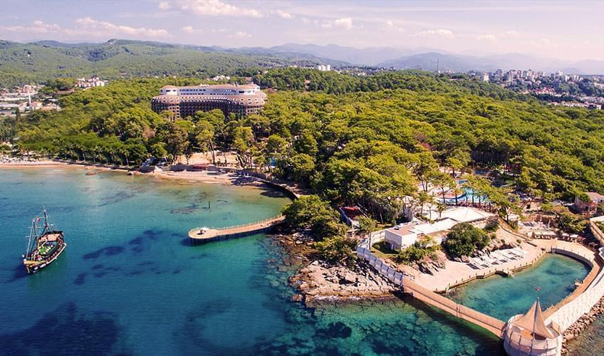 مراكز وفنادق العطل الصيفية الحلال في تركيا