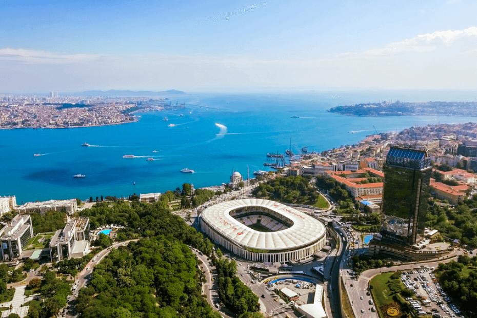 حي Besiktas الأكثر قيمة في تركيا