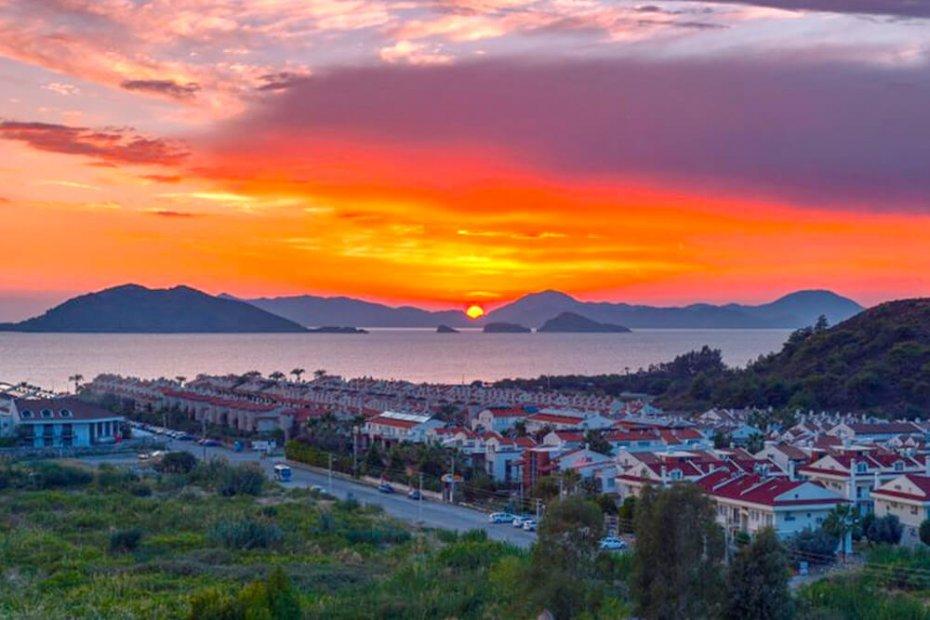 أفضل الأماكن من أجل مشاهدة غروب الشمس في تركيا