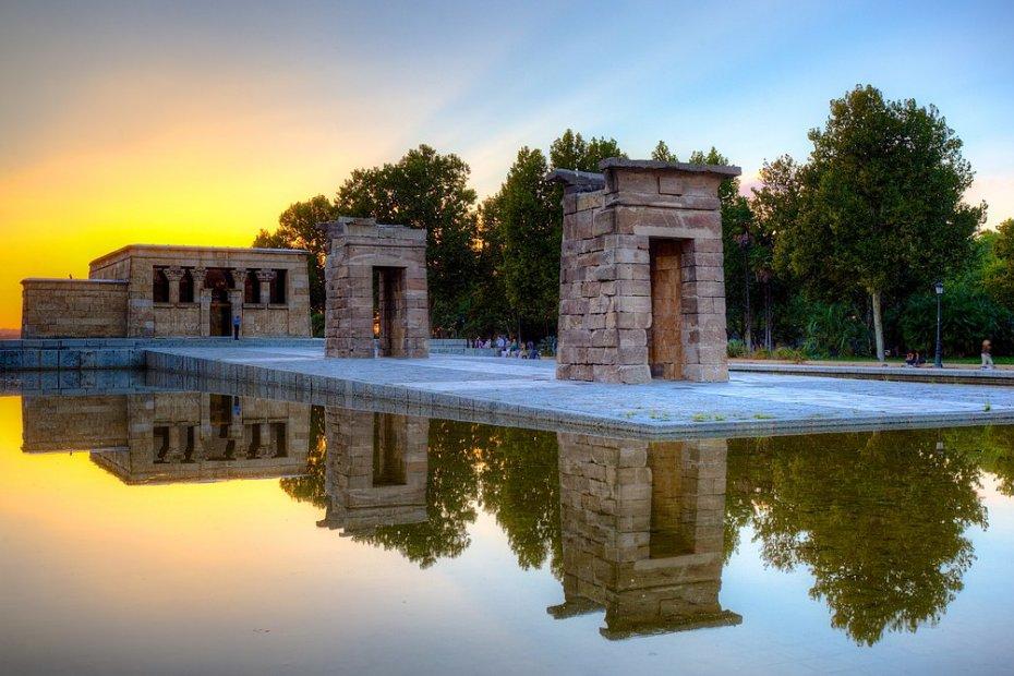 میڈرڈ میں ایک مصری نوادرات: دیبوڈ کا مندر