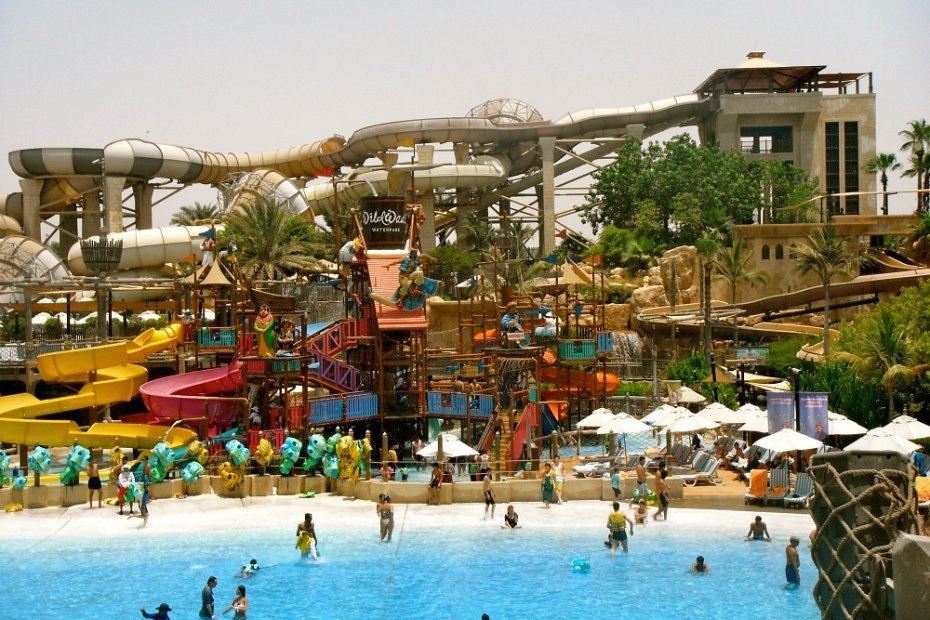 Dubai's Premier Waterpark: Wild Wadi Waterpark