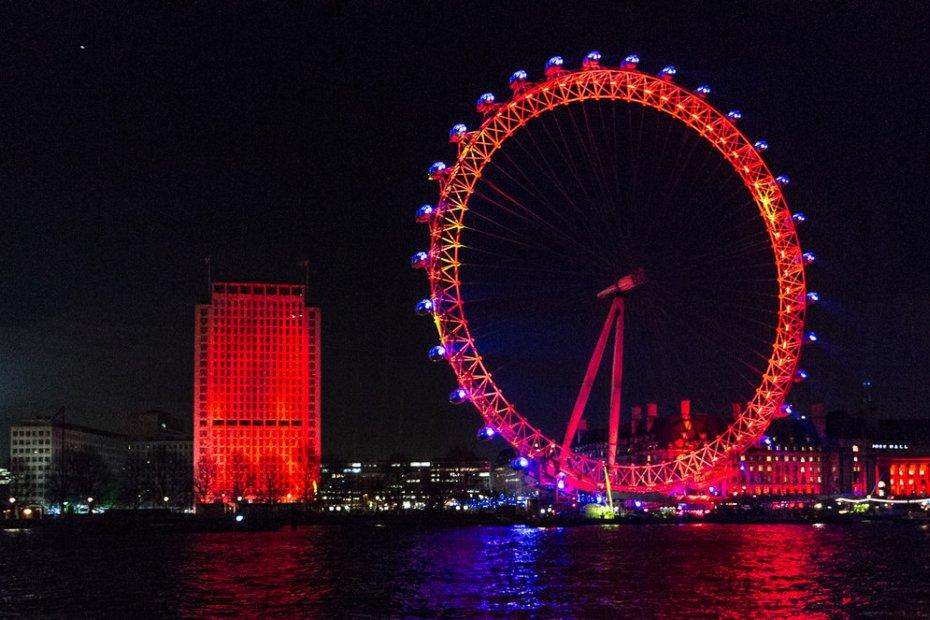 Europas höchstes Aussichtsrad: London Eye
