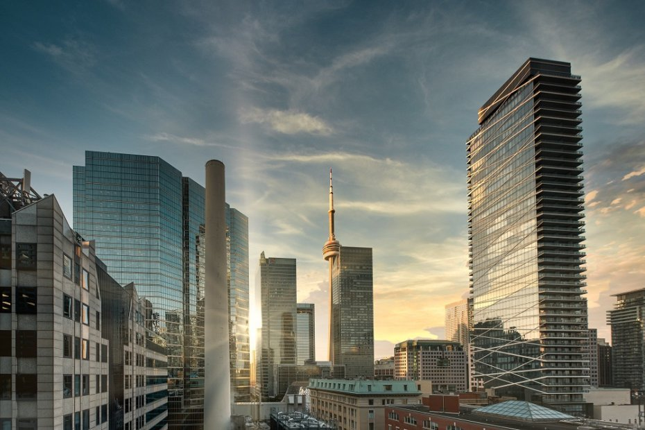 Financial District of Toronto