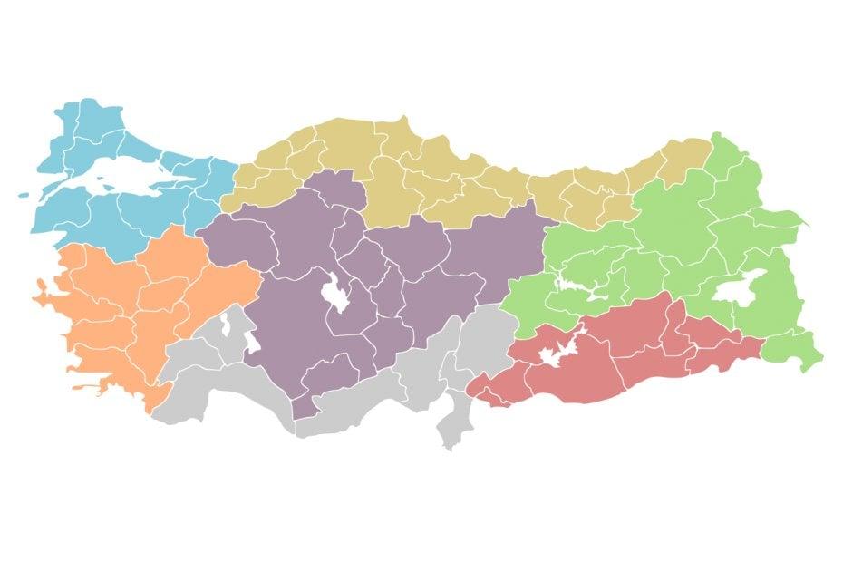 Geographical Regions of Turkey: Marmara Region