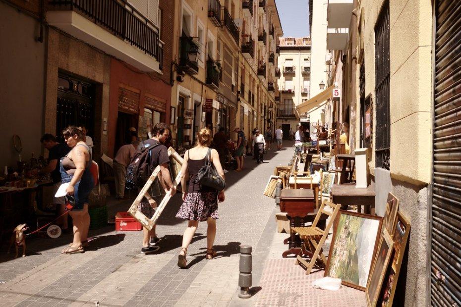 Madrid's Most Popular Open-Air Flea Market: El Rastro