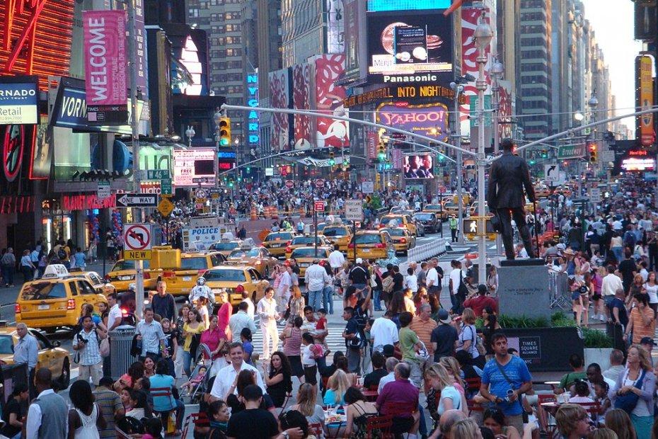 美国人口最多的城市