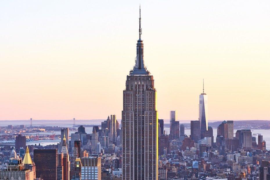 Das ikonischste Gebäude von New York City: das Empire State Building
