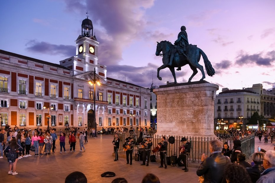 One of the Most Known Places in Madrid: Puerta del Sol