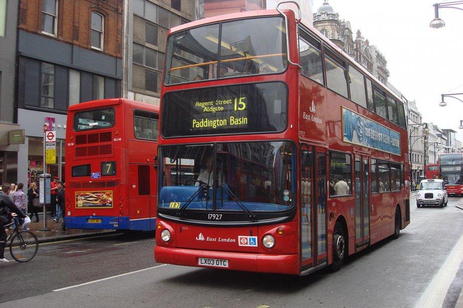 النقل العام في لندن