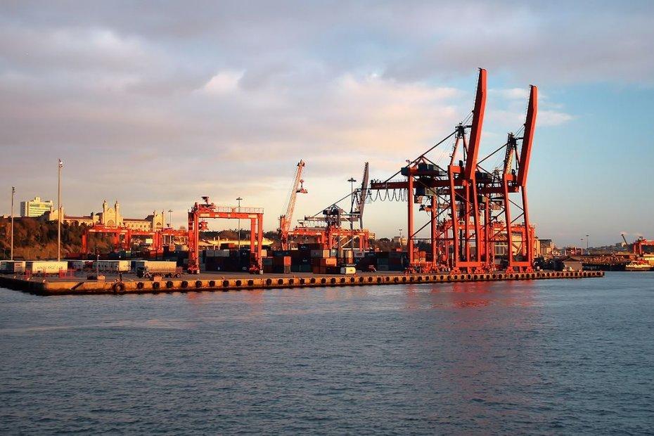 The Port of Haydarpaşa