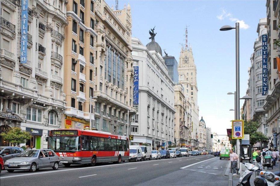 The Spanish Broadway: Gran Via