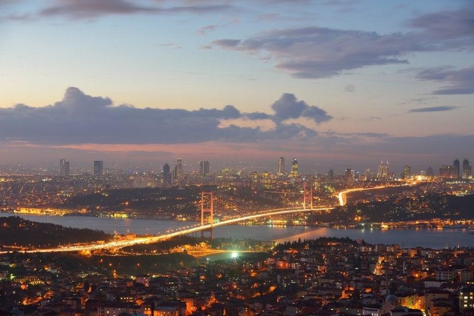 The Three Bridges of Istanbul