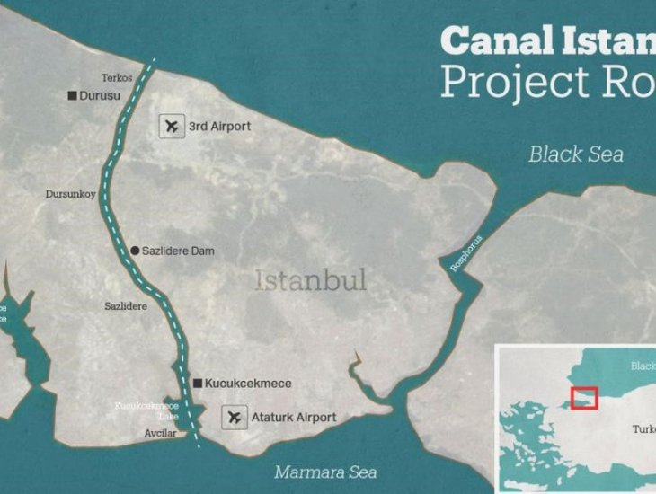 Istanbul Canal is to Change the Fate of These Districts