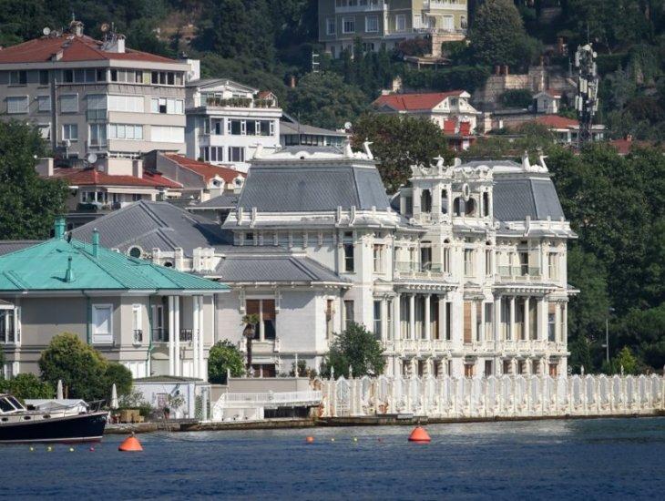 Prächtige Herrenhäuser von Istanbul