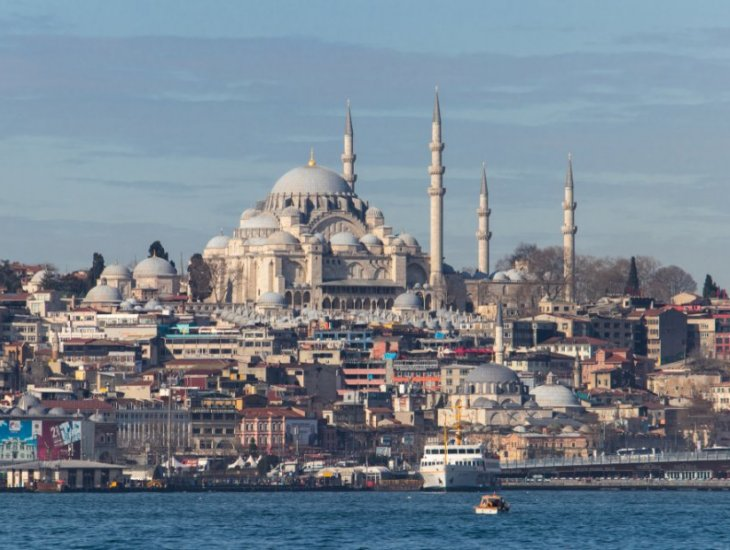 Historische Moscheen in Istanbul zu besuchen
