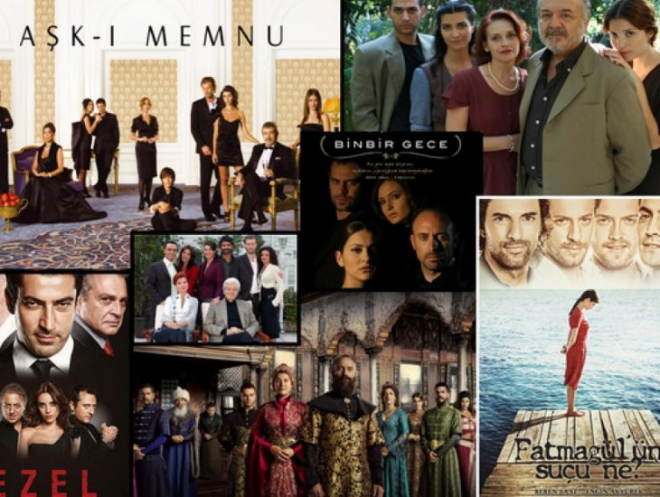 प्रसिद्ध तुर्की टीवी श्रृंखला और उनकी सेटिंग्स