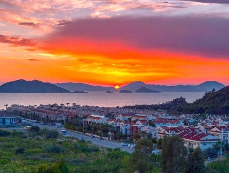 Les meilleures vues du coucher de soleil en Turquie