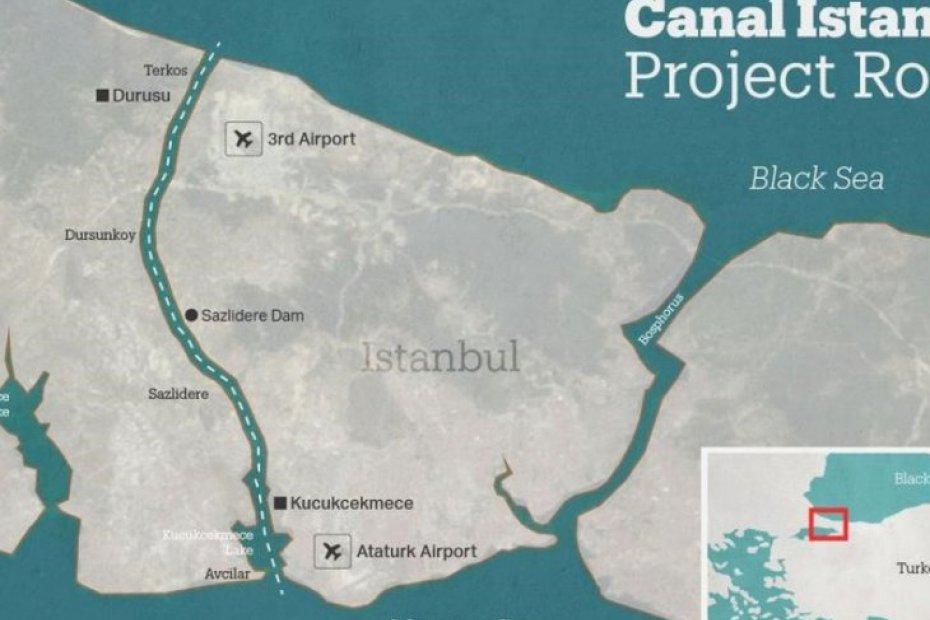 Le canal d\'Istanbul va changer le destin de ces quartiers