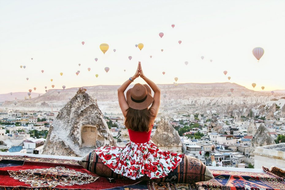 Over 120,000 tourists enjoy bird's eye view of Cappadocia